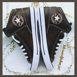 Converse All Star Mid Brown Unisex NWT
